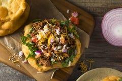 Domowej roboty Indiański dłoniaka chleba Tacos Zdjęcie Royalty Free