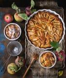 Domowej roboty jabłczany cke Obraz Royalty Free