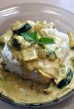Domowej roboty jarzynowy curry Zdjęcia Stock