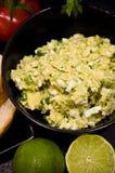 Domowej roboty kanapki z jajkami i mangowym łbem Zdjęcie Royalty Free