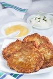 Domowej roboty kartoflani bliny Zdjęcie Stock