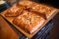 domowej roboty kulebiaki Fotografia Royalty Free