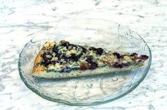 Domowej roboty śliwka tort Obrazy Stock