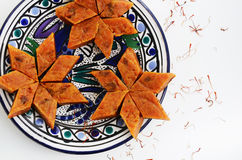 Domowej roboty marchwiany halwa, tradycyjny indyjski deser zdjęcia royalty free
