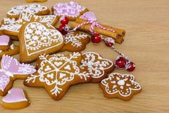 domowej roboty miodownik bożych narodzeń ciastek miodownik zrobił pałac cukierkom Obrazy Stock