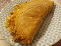 Domowej roboty omlet z serem zdjęcia royalty free