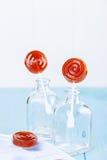 Domowej roboty owocowy lizaka cukierek Zdjęcie Royalty Free