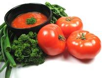 domowej roboty pomidor zupy Obraz Stock