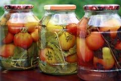 domowej roboty pomidory Zdjęcia Royalty Free