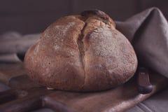 Domowej roboty Round chleb zdjęcie stock