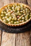 Domowej roboty słodki tarta z farszem jagody agresty c Fotografia Royalty Free