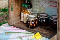 Domowej roboty sok, zalewy i dżem, Obrazy Royalty Free