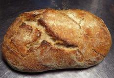 Domowej roboty sourdough chleb Zdjęcia Royalty Free