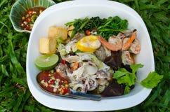 Domowej roboty Sukiyaki zdjęcia stock