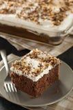 Domowej roboty Toffee i Czekoladowy tort Obrazy Stock
