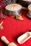 Domowej roboty torty, biskwitowy pieczenie Obrazy Stock