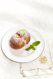 Domowej roboty Włoscy brzoskwini ciastka Obraz Stock