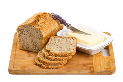Domowej roboty wholemeal chleb Obraz Royalty Free