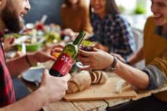 Domowej roboty wino Zdjęcia Stock