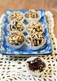 Domowej roboty zdrowi cukierki Fotografia Stock