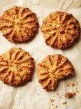 Domowej roboty zdrowi oatmeal ciastka Obraz Royalty Free