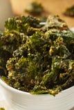 Domowej roboty Zieleni Kale układy scaleni Zdjęcia Royalty Free