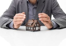 Domowi asekuracyjni plany Fotografia Stock