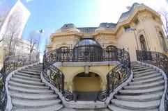 domowi Bucharest naukowowie Obrazy Stock