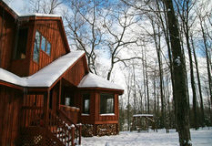 domowi drewna Zdjęcie Royalty Free