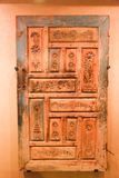 Domowi drzwiowi antyczni antyki - Sharjah muzeum Obraz Stock