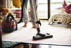 Domowi higieny cleaning próżni urządzenia fotografia stock