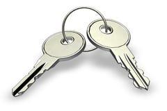 domowi klucze Fotografia Royalty Free