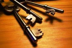domowi klucze Zdjęcie Stock