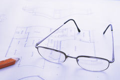 domowi plany Zdjęcie Stock