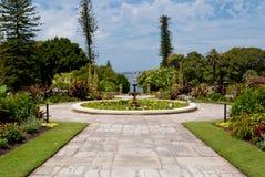 Domowi rzędów Ogródy, Ogród Botaniczny, S Fotografia Stock