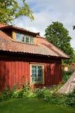 domowi starego stylu szwedzi Obraz Royalty Free