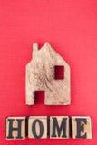 Domowi symboli/lów listy Obraz Royalty Free