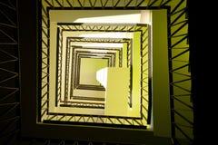 domowi wewnętrzni nowożytni schodki Obraz Royalty Free