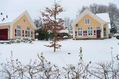 domowy śnieg obrazy stock