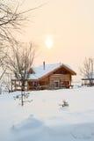 domowy śnieg fotografia royalty free