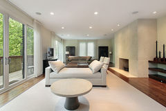 domowy żywy luksusowy pokój zdjęcie royalty free