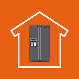 Domowy appliences projekt ilustracji