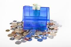Domowy bank zdjęcia royalty free