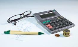 Domowy budżeta wciąż życie Obrazy Stock