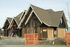 domowy budowy dekarstwo Zdjęcie Royalty Free