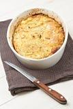 domowy cebuli pieprzu kulebiak Zdjęcie Stock