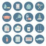 Domowy cleaning ilustracja wektor