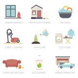 Domowy cleaning ilustracji