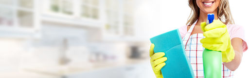 Domowy cleaning obraz stock