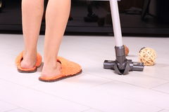 Domowy cleaning domowy zakończenie Zdjęcie Stock